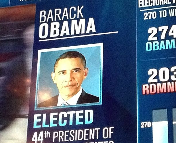 Obama victory silences Romney