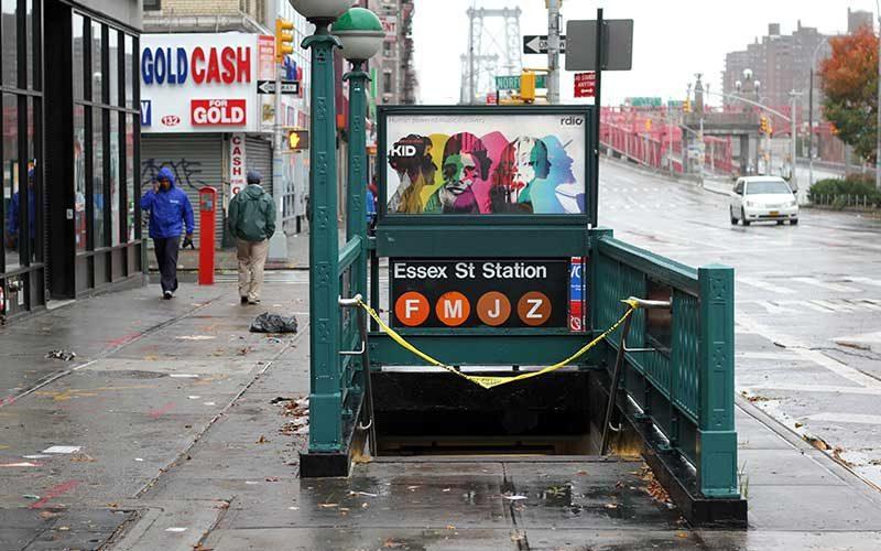 Voting continues despite Sandy